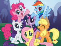 Meet the Ponies main crop