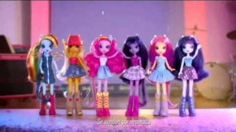 Muñecas My Little Pony Equestria Girls - España - Tercer anuncio