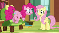 "Pinkie Pie ""make a bouncy castle"" S7E5"