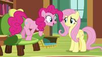 """Pinkie Pie """"make a bouncy castle"""" S7E5"""