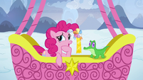 Pinkie Pie -that was a hard one, Gummy- S7E11