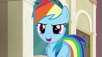 "Rainbow ""to me, that means the fastest"" S6E9"