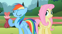 Rainbow Dash -number one, greatest, perfectest pet- S2E7
