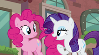 Rarity --I am off to scout possible locations for my new boutique!-- S6E3