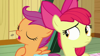 "Scootaloo ""in our defense"" S9E22"