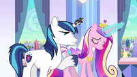 Shining Armor and Cadance S3E01