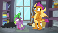 Spike overcome with indigestion again S8E11