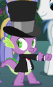 Spike tuxedo ID S2E26