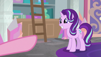 Starlight Glimmer grinning happily S8E13