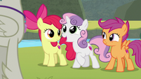 "Sweetie Belle ""you are so lucky!"" S8E6"