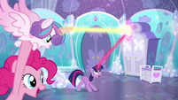 Twilight intercepts Flurry Heart's magic a third time S6E1