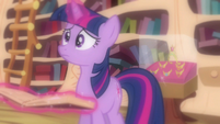 Twilight semi uncharacter moment S3E13