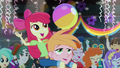 Apple Bloom on Big Mac's shoulders EG2.png