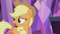 "Applejack ""I sure hope everypony else"" S5E20"