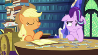 Applejack --if you can't say anythin' nice-- S6E21
