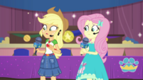 Applejack and Fluttershy still confused EGDS36