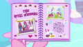 Baby Flurry Heart's Heartfelt Scrapbook page one BFHHS1.png