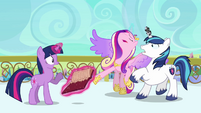 Cadance beginning to faint S3E1