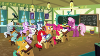 Cheerilee --I hope you brought your thinking caps-- S6E14