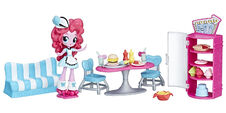 Equestria Girls Minis Pinkie Pie Sweet Snacks Cafe set