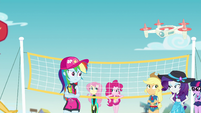 Equestria Girls still looking skeptical EGFF