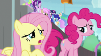 "Fluttershy ""being nervous is a good sign"" S9E15"