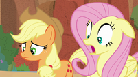Fluttershy gasping in surprise S8E23