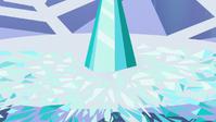 Fragmentos del Corazón de Cristal en el suelo T6E1
