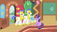 Guards ask Twilight S1E22