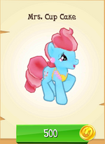 Mrs. Cup Cake MLP Gameloft