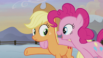 "Pinkie Pie ""I'll explain on the way!"" S5E20"