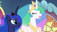 "Princess Celestia ""it is time for us..."" S9E1"
