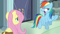 "Rainbow Dash ""from the bad guy"" S9E21"