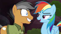 "Rainbow Dash ""if you read that in a book"" S6E13"