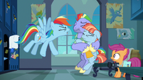 "Rainbow Dash ""ridiculous, insignificant thing I do!"" S7E7"