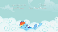 Rainbow Dash cloud backstroke S2E8