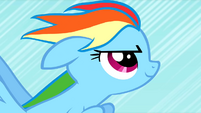 Rainbow Dash prepares for the Sonic Rainboom S01E16