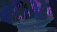 Scootaloo in the woods S3E6
