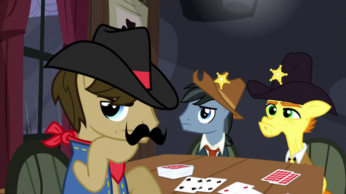Sheriff Silverstar in deep thought S5E6