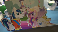 Shining Armor and Princess Cadance display