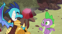 """Spike """"I could ask you the same thing"""" S6E5"""