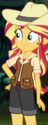 Sunset Shimmer jungle adventurer ID EGS1