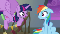Twilight --think of the Wonderbolts like us-- S6E7