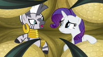 "Zecora ""I wish you'd escaped"" S8E11"