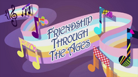 'Friendship Through the Ages' animated short title card EG2