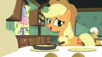 "Applejack ""we fell behind a bit yesterday"" S9E10"