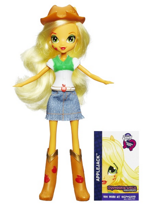 Image  Applejack Equestria Girls show attire dollpng  My Little