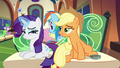 Applejack trying to one-up Rarity S4E22.png