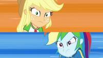 Applejack vs. Rainbow Dash EGDS4