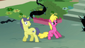 Comet Tail and Cherry Berry scared S4E02.png